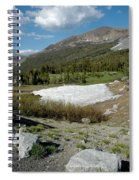 Yosemite At The Gate Tioga Pass Spiral Notebook
