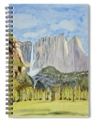 Yosemite Falls Spiral Notebook