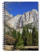 Yosemite Falls Through The Trees Spiral Notebook