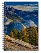 Yosemite Morning Spiral Notebook