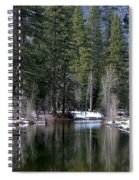 Yosemite Reflections Spiral Notebook