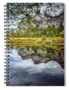 Yosemite Reflections Right Spiral Notebook