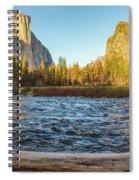 Yosemite Sunset Spiral Notebook