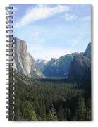 Yosemite Valley 1 Spiral Notebook