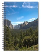 Yosemite Valley 3 Spiral Notebook