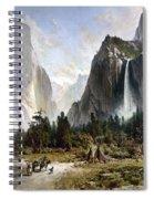 Yosemite Valley, C1860 Spiral Notebook