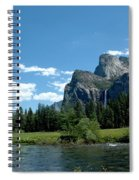 Yosemite Valley View X Spiral Notebook