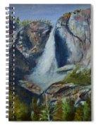 Yosemite Waterfall Spiral Notebook