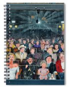 You Are The Star Mural Hollywood Spiral Notebook