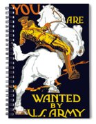 You Are Wanted By Us Army Spiral Notebook