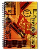 You Got Me Coming And Going Spiral Notebook