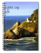 You Light Up My Life 1 Spiral Notebook