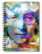You May Say I'm A Dreamer Spiral Notebook