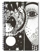 You Me The Stars And The Moon Spiral Notebook