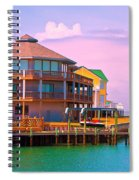 You Should See The Sunset Spiral Notebook