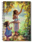 You Will Bear Much Fruit Spiral Notebook