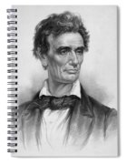Young Abe Lincoln Spiral Notebook