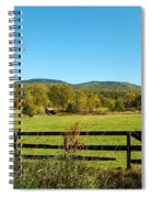 Young And Swain Road, Gilford N H Spiral Notebook