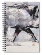 Young Boar Spiral Notebook
