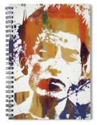 Young Bob Dylan Spiral Notebook