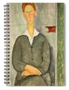Young Boy With Red Hair Spiral Notebook