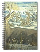 Young Buck Resting Spiral Notebook