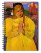 Young Christian Girl 1894 Spiral Notebook