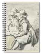 Young Couple Spiral Notebook