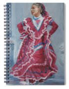 Young Dancer At Arneson Theater Spiral Notebook