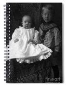 Young Ernest Lawrence And Brother, 1904 Spiral Notebook