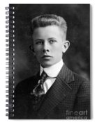 Young Ernest Lawrence Spiral Notebook