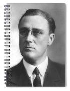 Young Franklin Delano Roosevelt Spiral Notebook