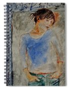 Young Girl 451120 Spiral Notebook