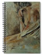 Young Girl  45905040 Spiral Notebook