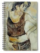Young Girl  459070 Spiral Notebook