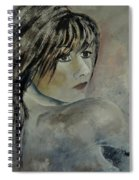 Young Girl 561110 Spiral Notebook