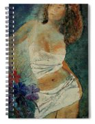 Young Girl  5625632 Spiral Notebook