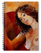 Young Girl  5641 Spiral Notebook