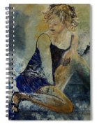 Young Girl 5689474 Spiral Notebook
