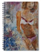 Young Girl  5689652 Spiral Notebook