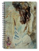 Young Girl  64 Spiral Notebook