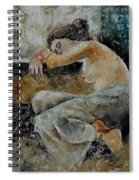 Young Girl  679050 Spiral Notebook