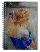 Young Girl  78 Spiral Notebook