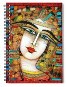 Young Girl Spiral Notebook