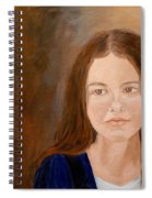 Young Girl Approaching Womanhood Spiral Notebook