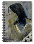 Young Girl Eg569090 Spiral Notebook