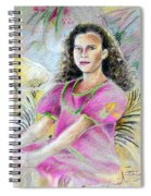 Young Girl From Tahiti Spiral Notebook