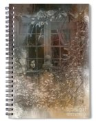 Young Girl Sitting At Window Spiral Notebook