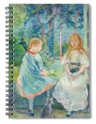 Young Girls At The Window Spiral Notebook