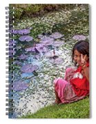 Young Khmer Girl - Cambodia Spiral Notebook
